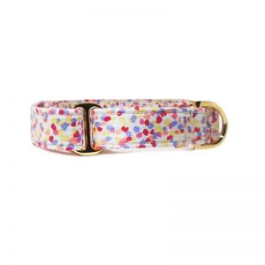 'Rainbow Sprinkles' 18K Gold Martingale/With Buckle