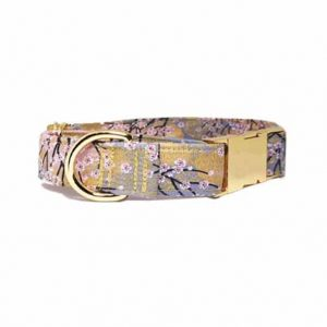 'Snow In Tokyo' 18K Gold Martingale Collar/With Buckle