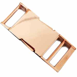 18K Rose Gold Buckle